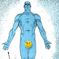 Dr Manhattan - Full Frontal
